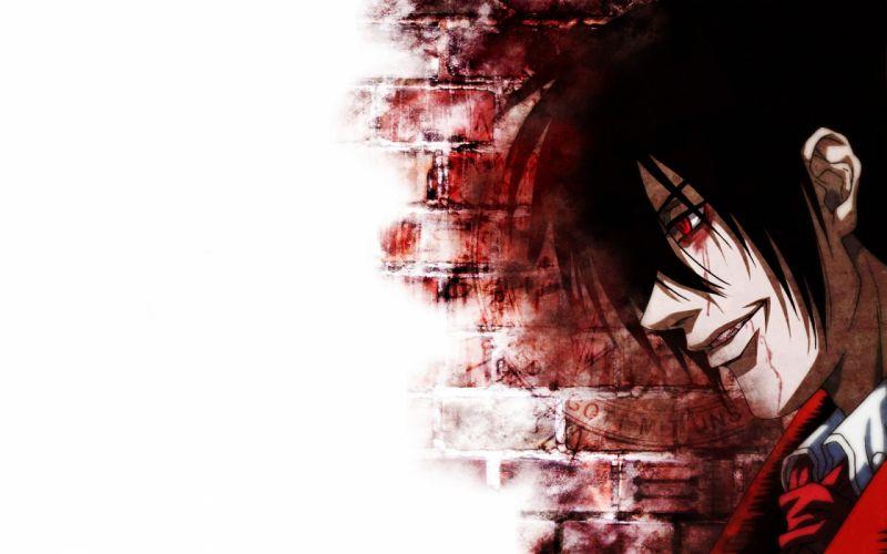 Hellsing Alucard vampires wallpaper