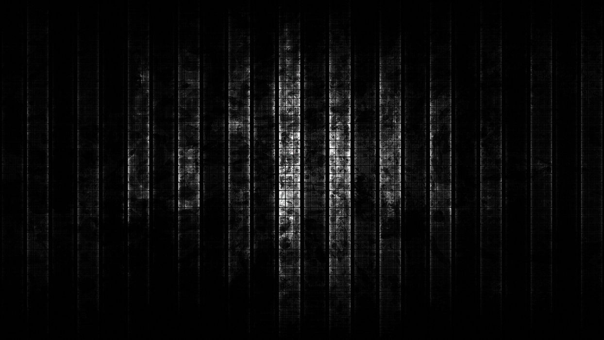 abstract grunge metal CGI bars wallpaper