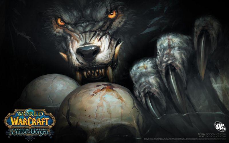World of Warcraft fantasy art Worgen wallpaper
