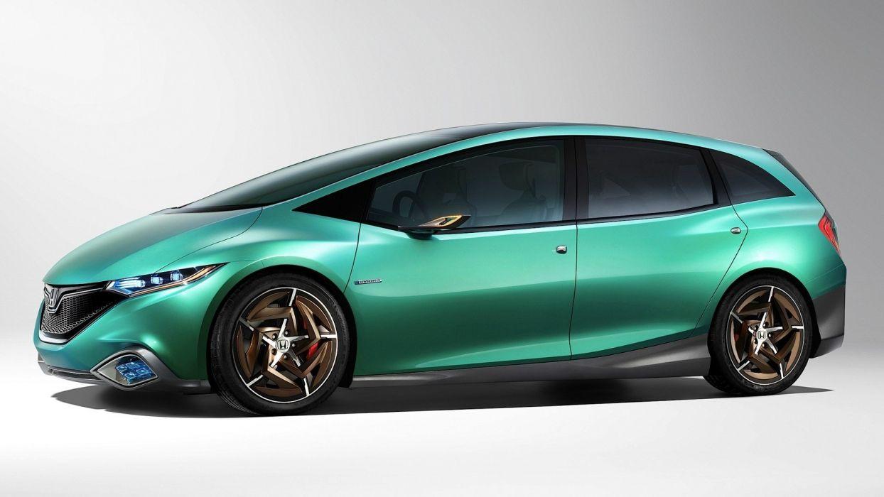 Honda cars concept art pearlescence wallpaper