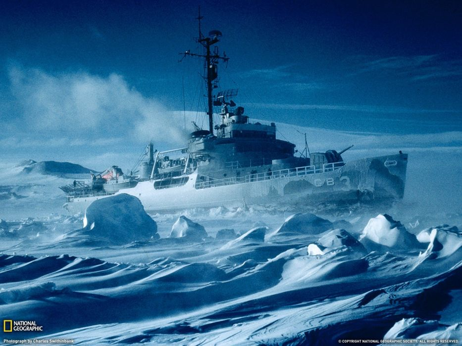 ice nature ships National Geographic Antarctica icebreaker ships wallpaper