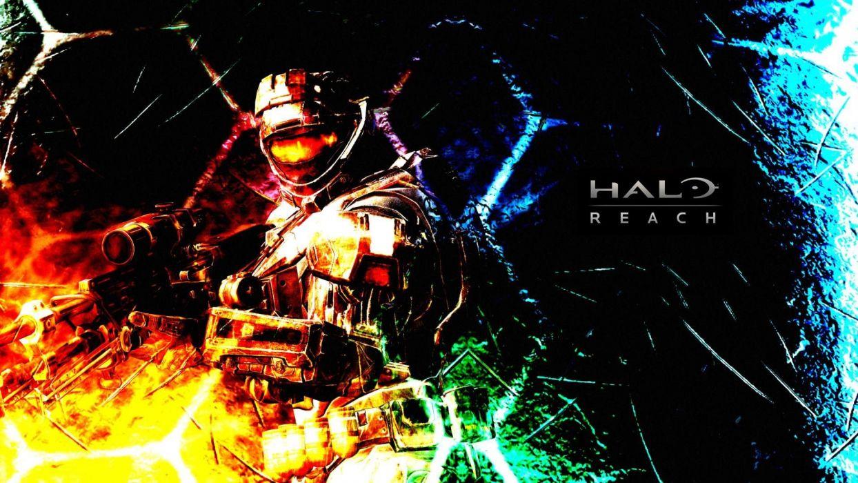 video games Halo wallpaper