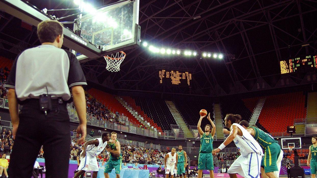 sports basketball Olympics 2012 wallpaper