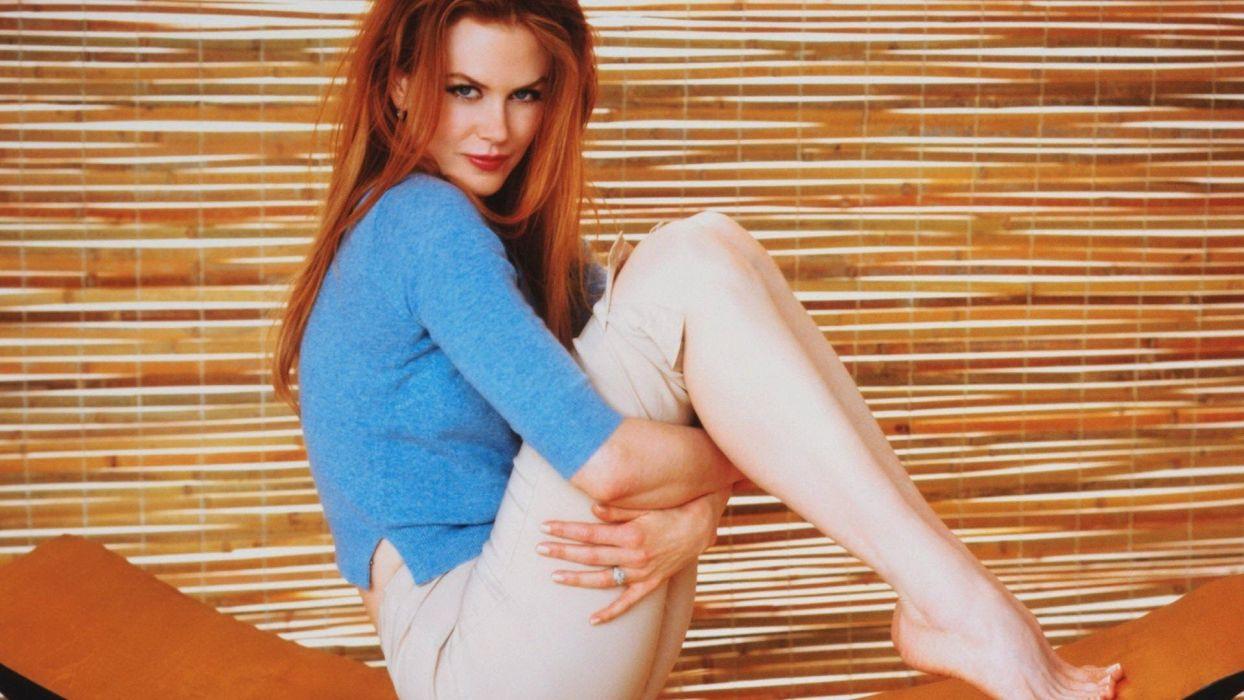 women redheads Nicole Kidman wallpaper