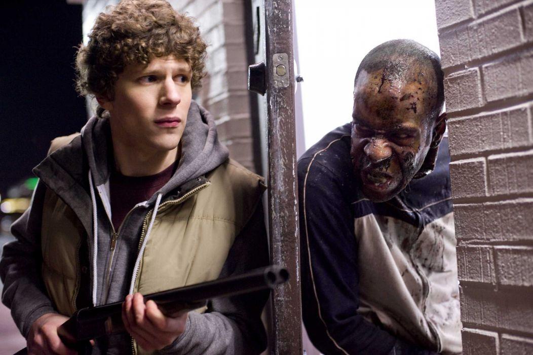ZOMBIELAND comedy horror dark action zombie    r wallpaper