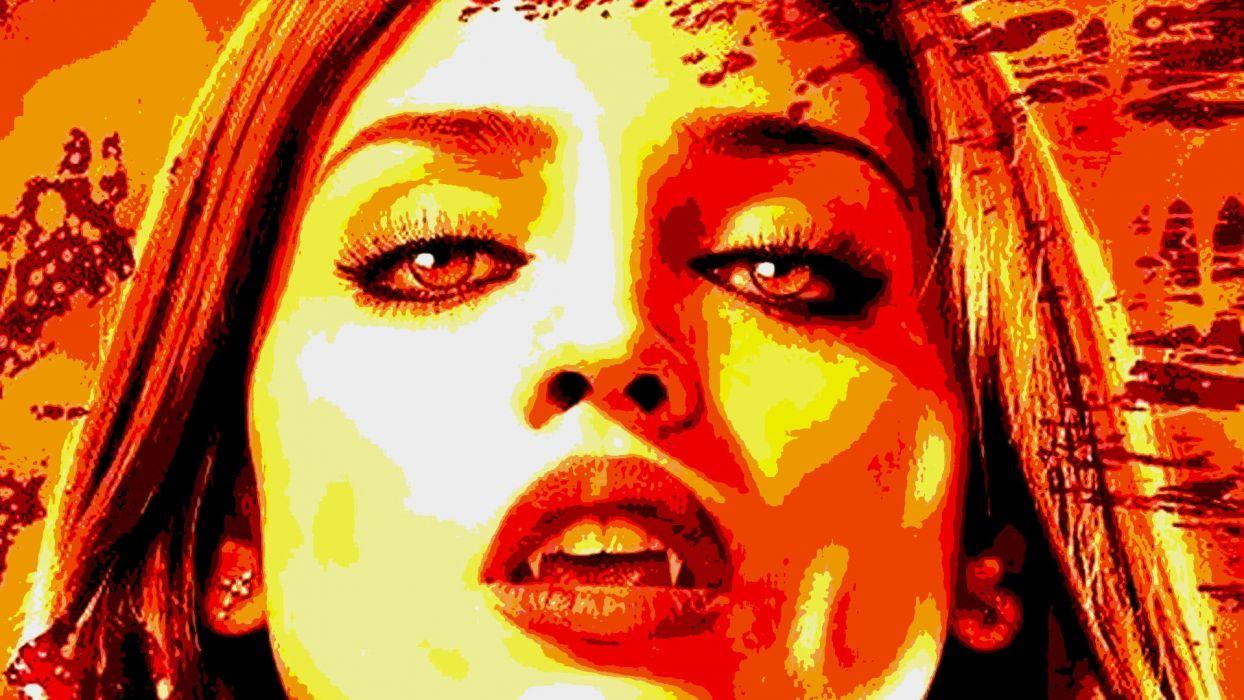 FROM DUSK TILL DAWN action crime horror dark vampire    fs wallpaper