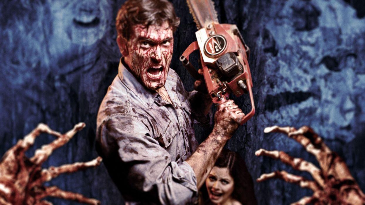 EVIL DEAD horror dark blood zombie  gd wallpaper