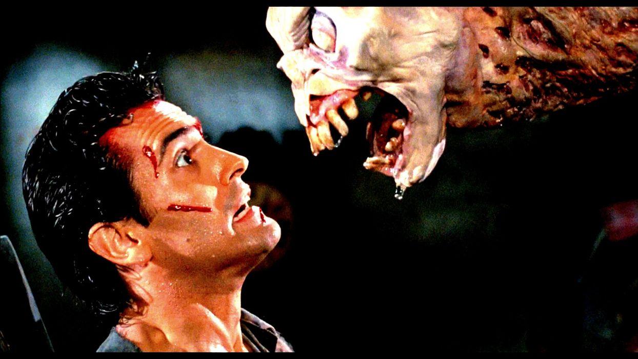 EVIL DEAD horror dark zombie blood demon monster   g wallpaper