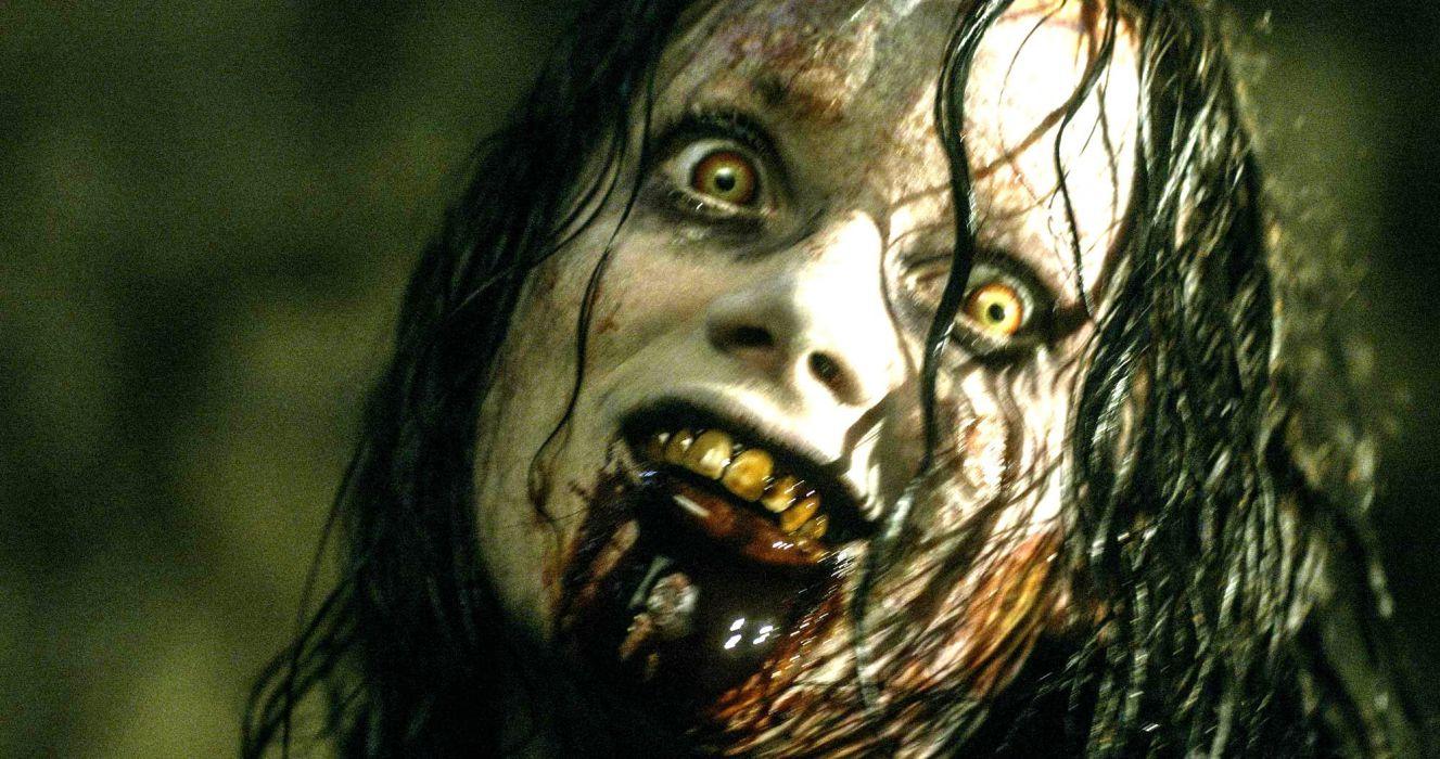 EVIL DEAD horror dark zombie blood  fs wallpaper