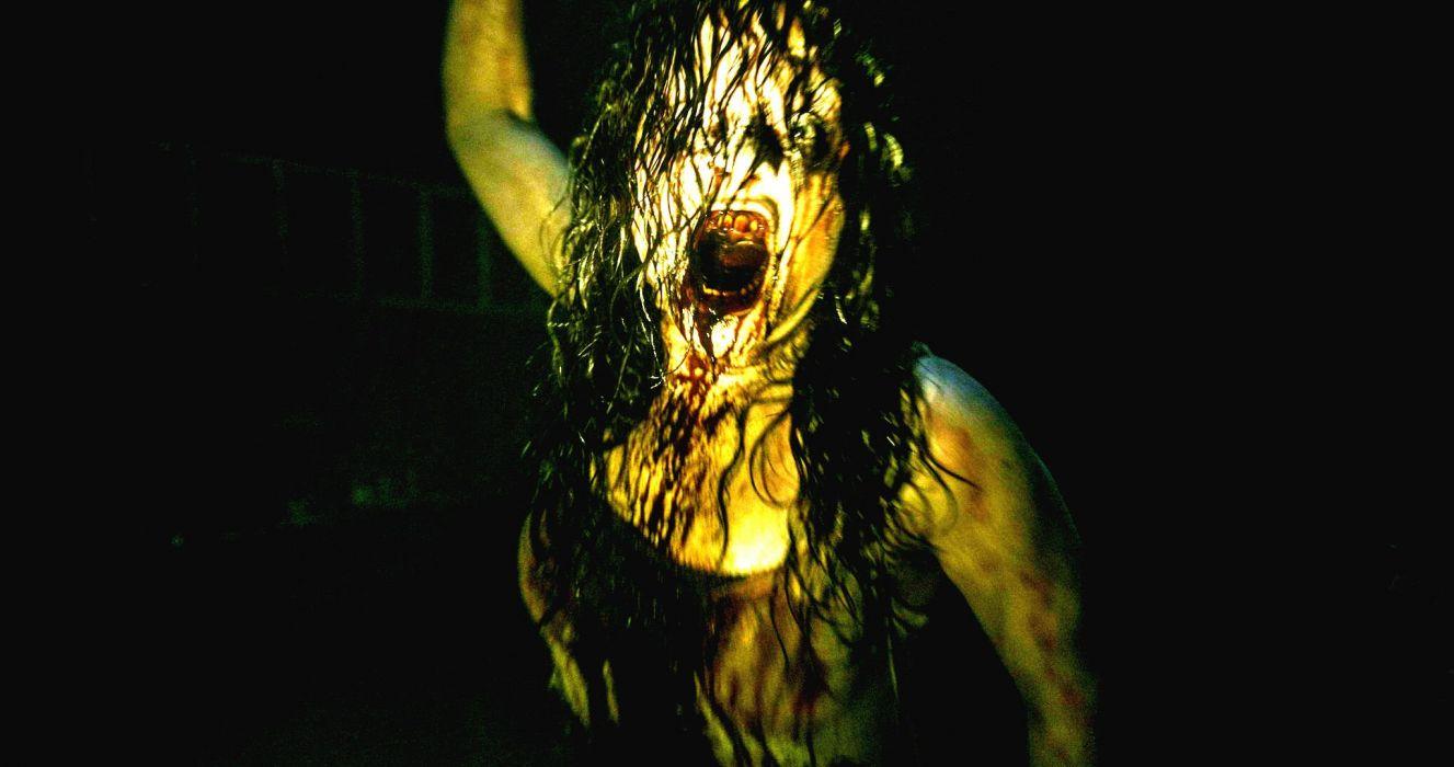 EVIL DEAD horror dark zombie blood  gd wallpaper