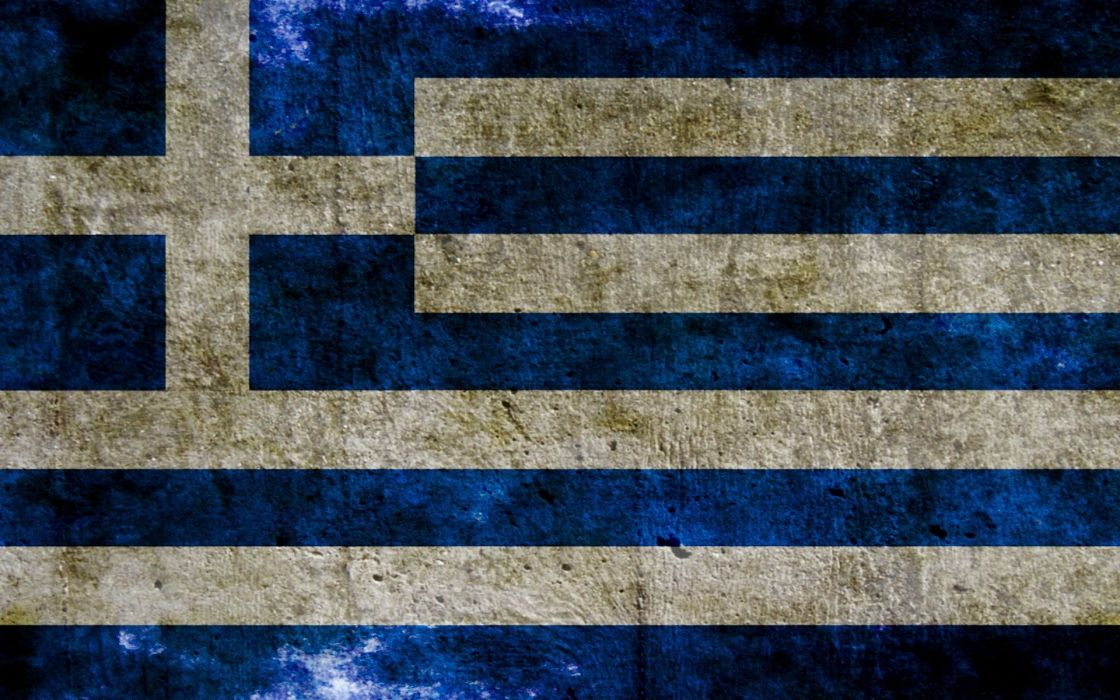 flags Greece wallpaper