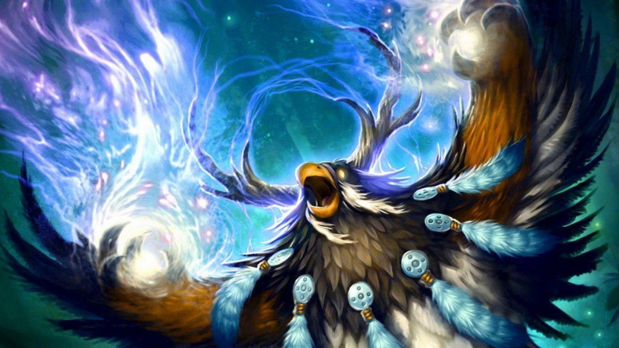 video games multicolor World of Warcraft fantasy art wallpaper