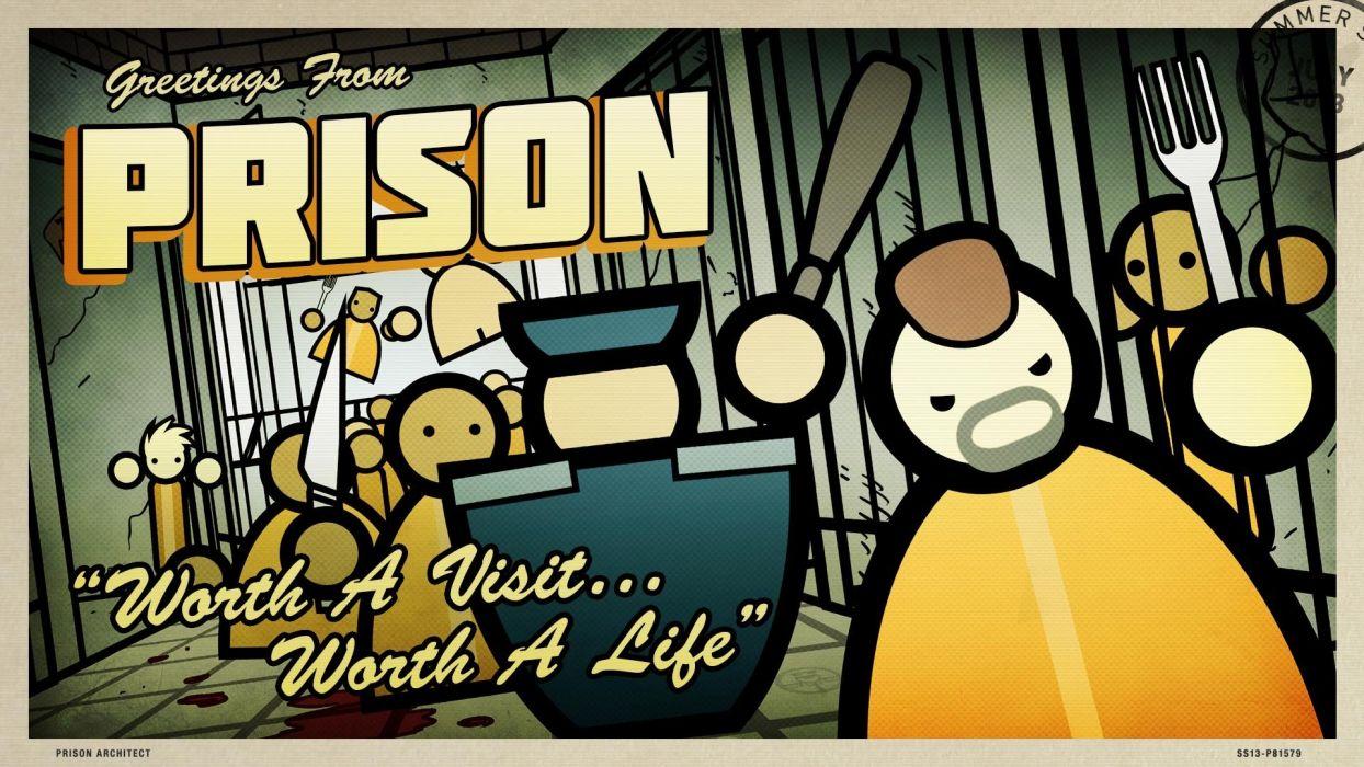 video games artwork Prison Architect wallpaper