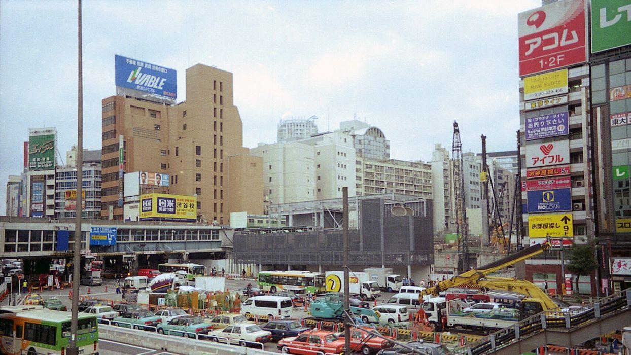 Japan Tokyo cityscapes Shibuya wallpaper