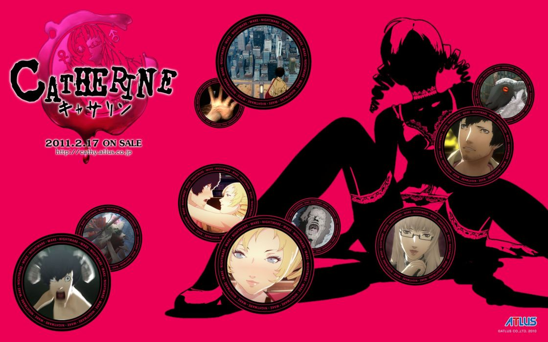 video games Catherine Catherine (video game) wallpaper