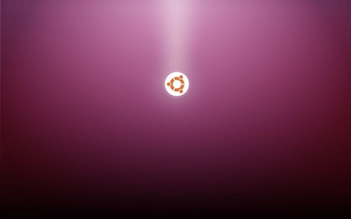 Ubuntu technology operating systems logos wallpaper