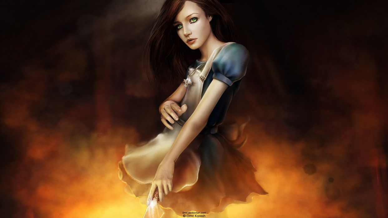 Alice in Wonderland Alice: Madness Returns American McGees Alice wallpaper