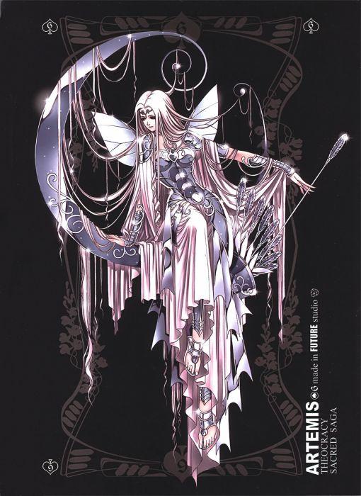 Saint Seiya anime anime girls Artemis wallpaper