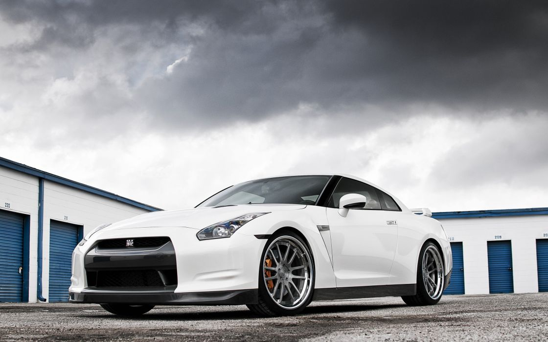 white cars front Nissan vehicles supercars tuning wheels sports cars luxury sport cars speed automobiles wallpaper