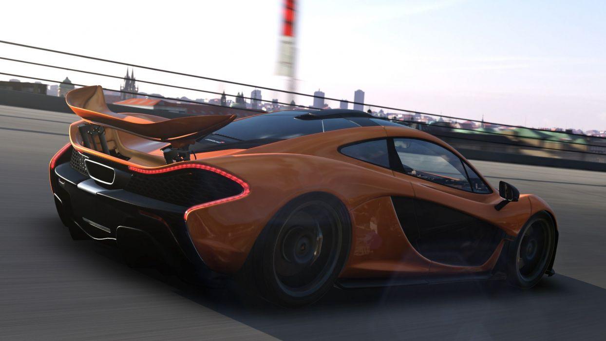 video games cars Mclaren P1 Xbox One Forza Motorsport 5 wallpaper