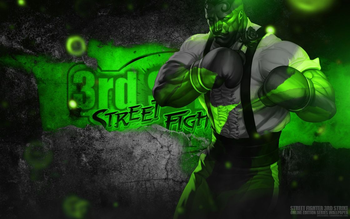 Bosslogic Artgerm Street Fighter III: 3rd Strike Online Edition Dudley wallpaper