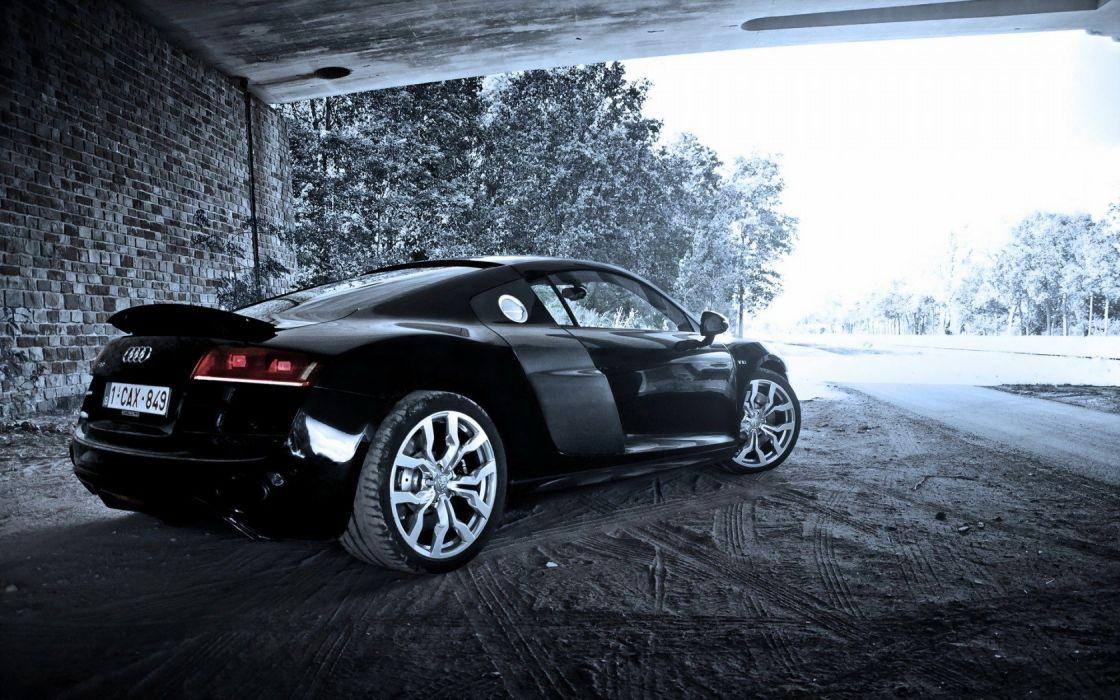 cars Audi R8 coupe wallpaper