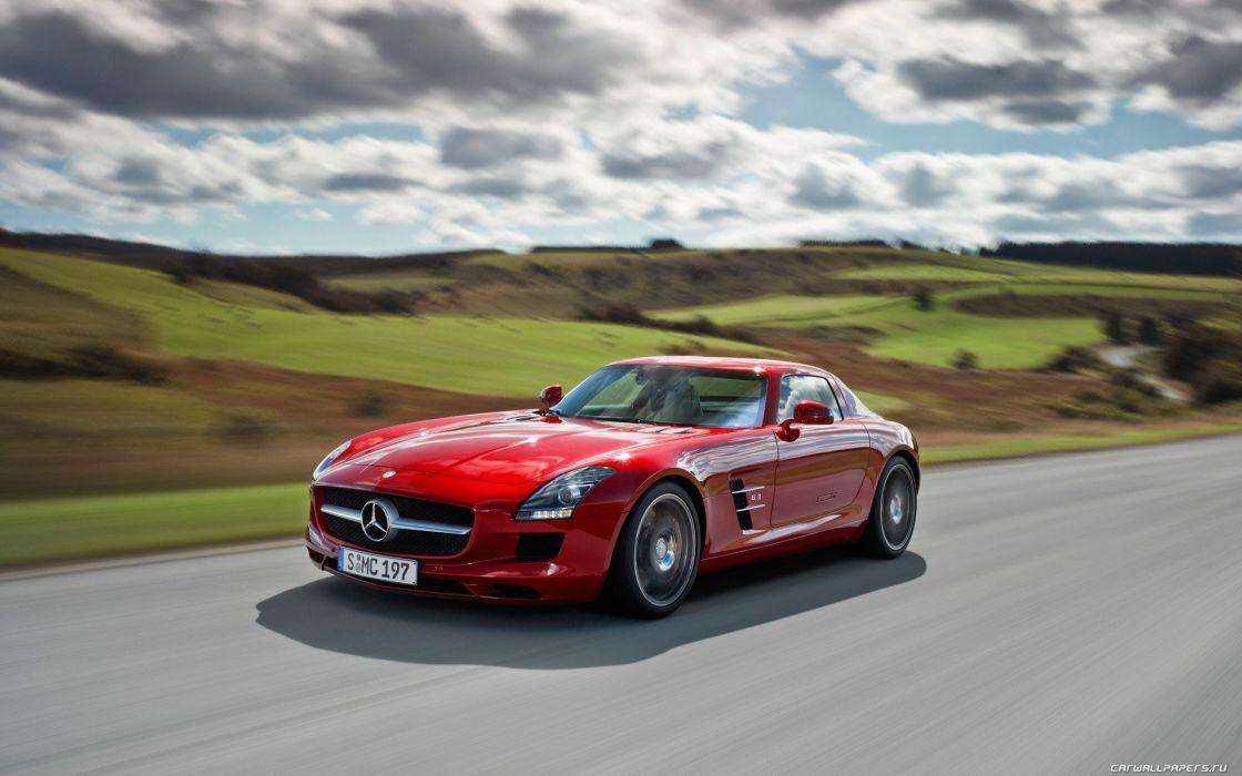 cars SLS AMG sports car Mercedes Benz mercedes benz sls Mercedes Benz Sls Amg wallpaper