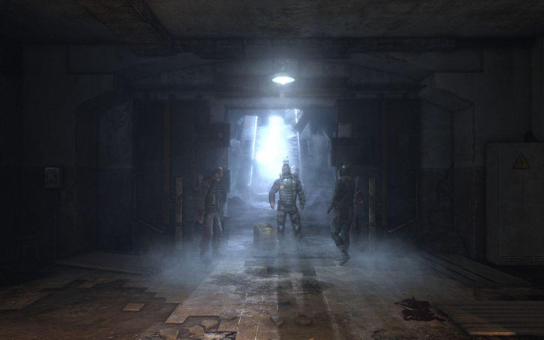 video games screenshots Metro 2033 wallpaper