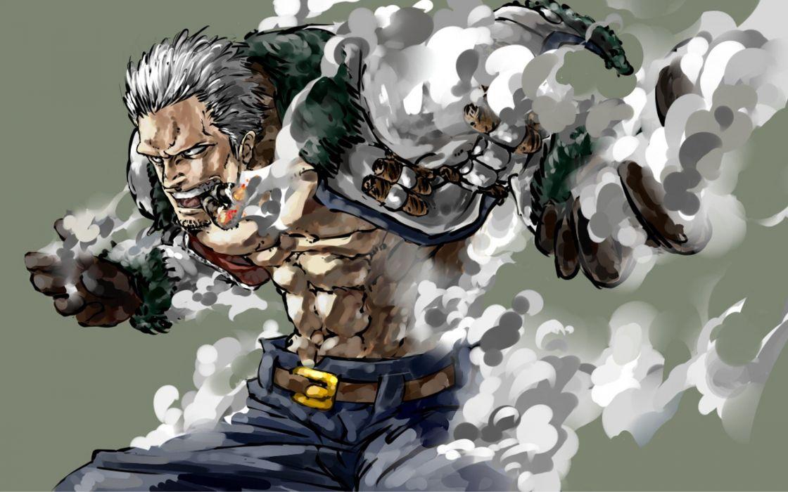 One Piece (anime) Smoker (One piece) wallpaper
