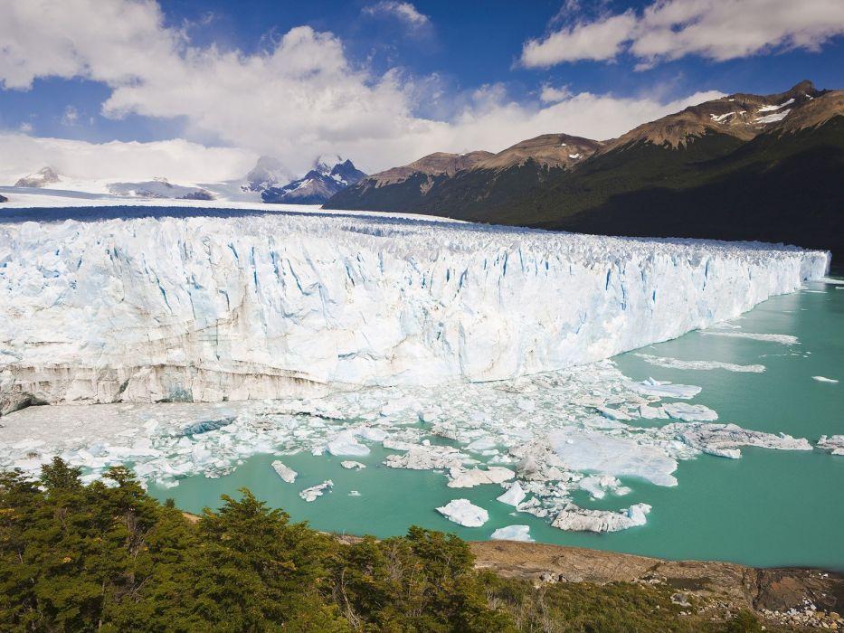 landscapes Argentina National Park Los Glaciares National Park wallpaper