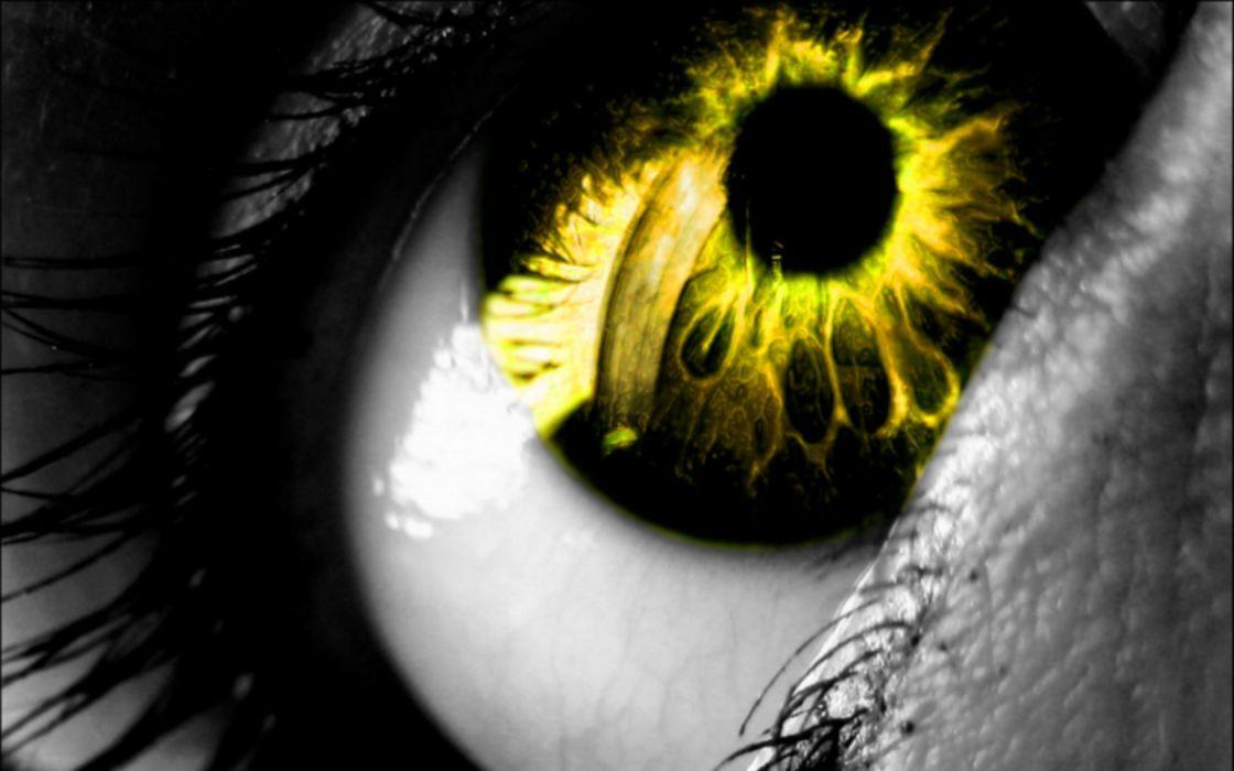 abstract eyes wallpaper