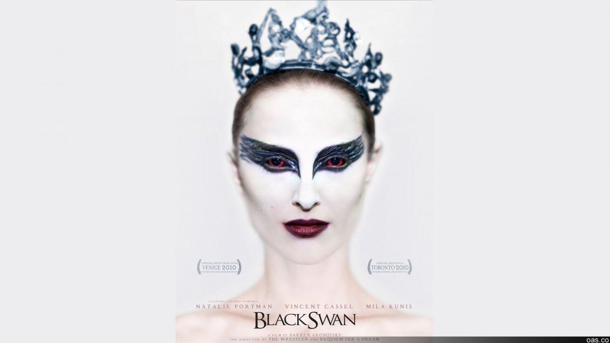 Natalie Portman Black Swan movie posters wallpaper