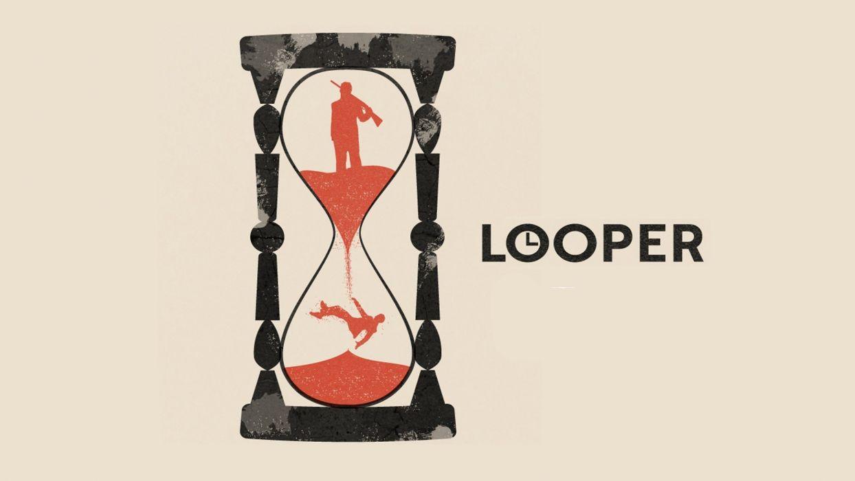 minimalistic artwork Looper wallpaper