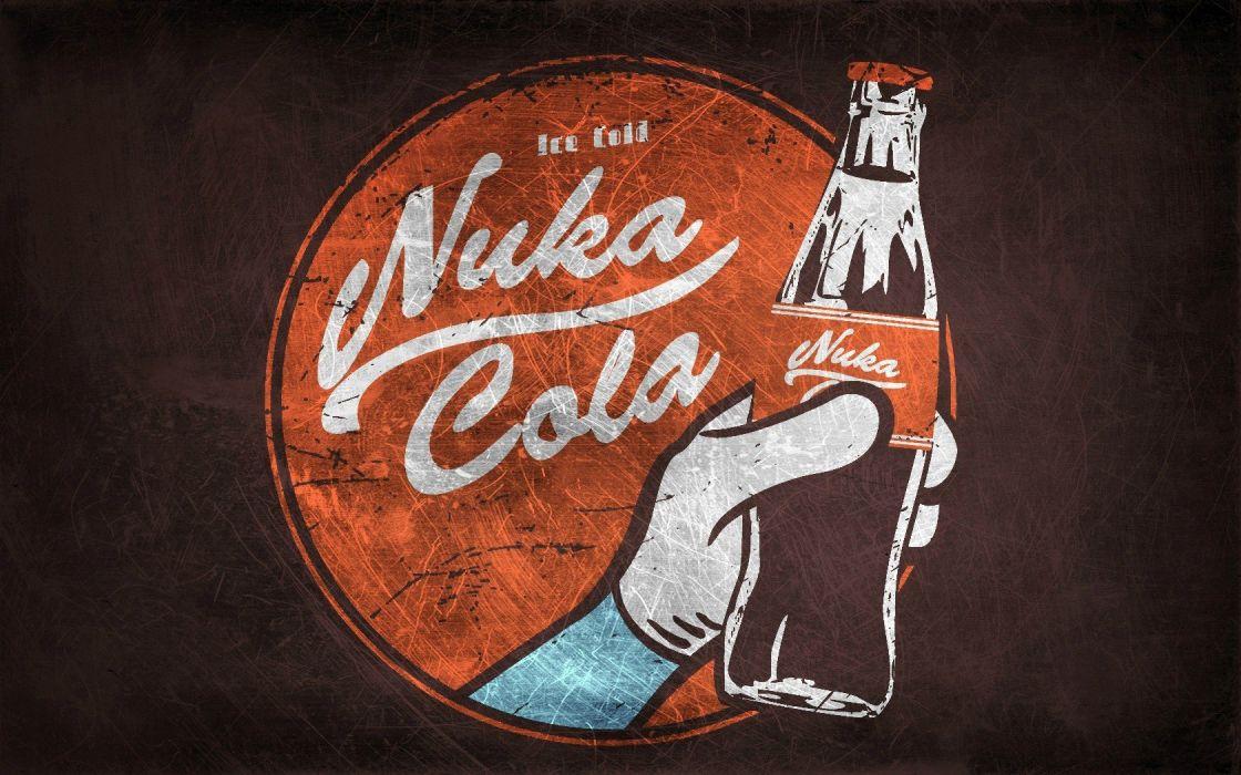 Fallout Nuka Cola Quantum game wallpaper