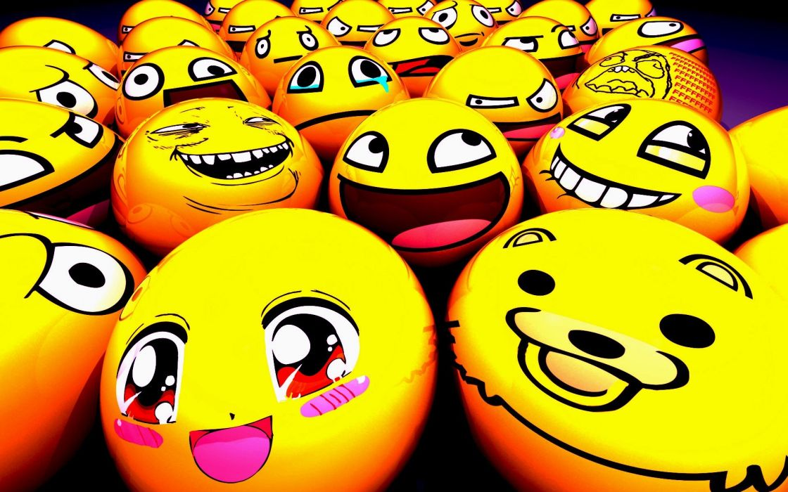 yellow meme wallpaper
