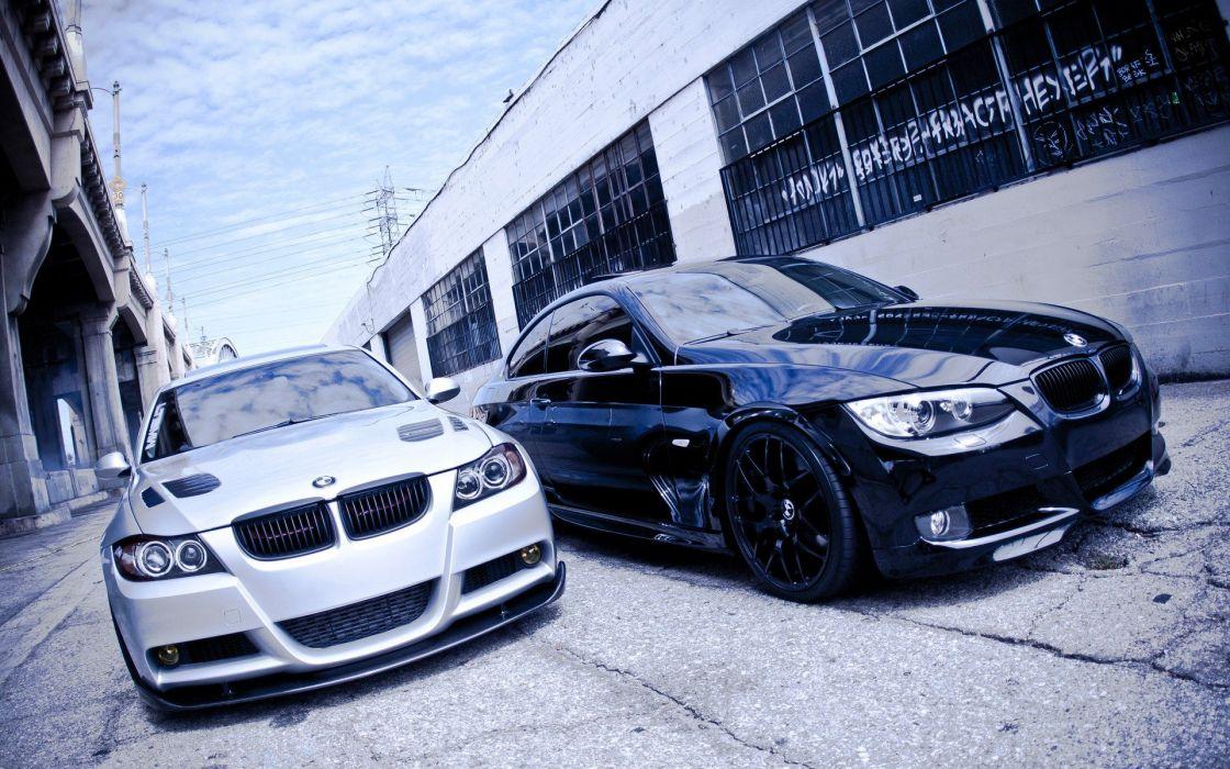 BMW cars tuning BMW 3 Series wallpaper
