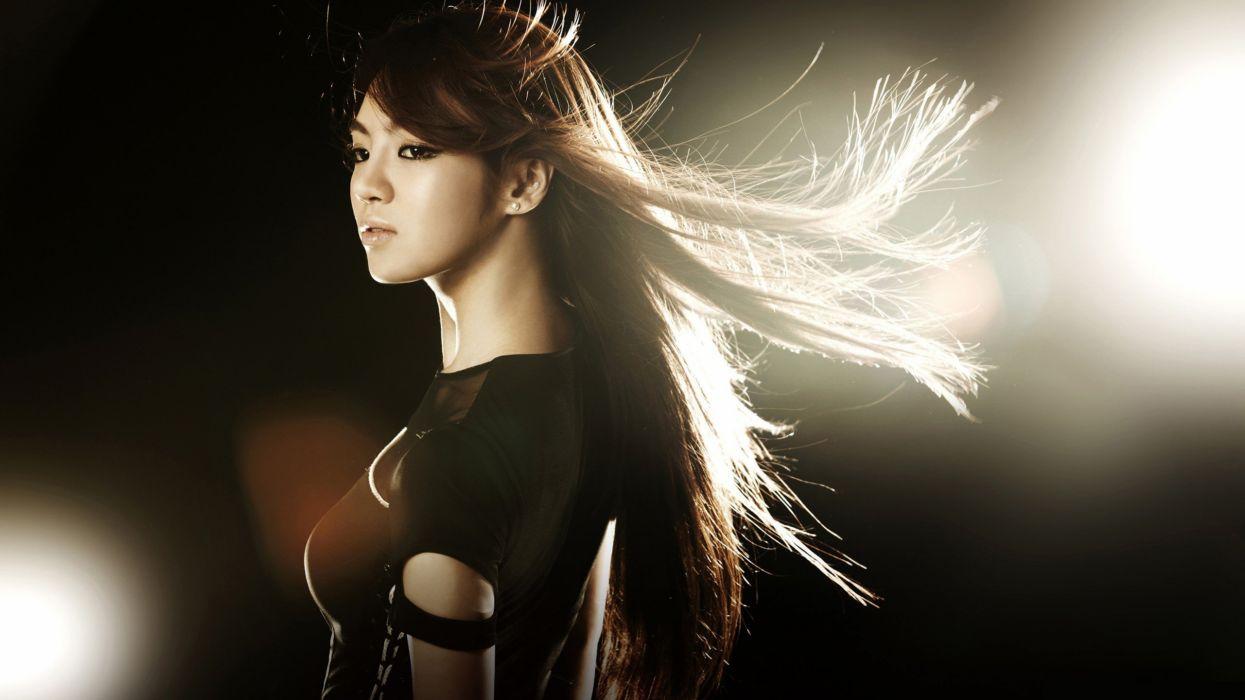 women Girls Generation SNSD Asians Kim Hyoyeon wallpaper