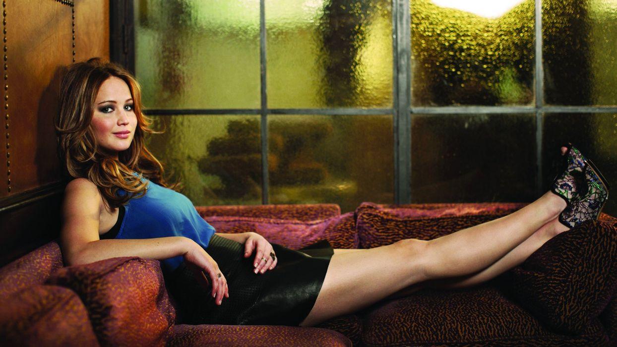 legs women actress Jennifer Lawrence wallpaper