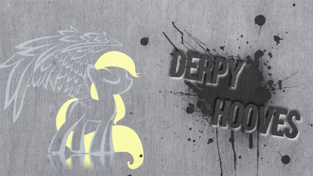 Pegasus Ponies Derpy Hooves My Little Pony Friendship Is Magic Wallpaper