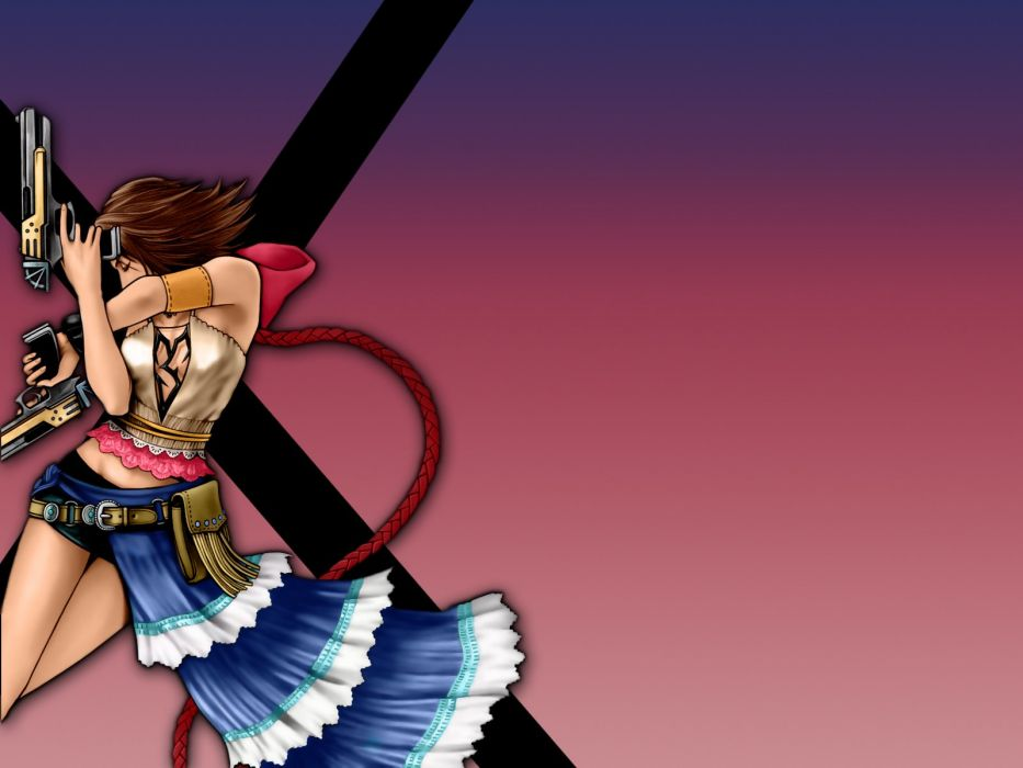 Final Fantasy Yuna Final Fantasy X-2 wallpaper