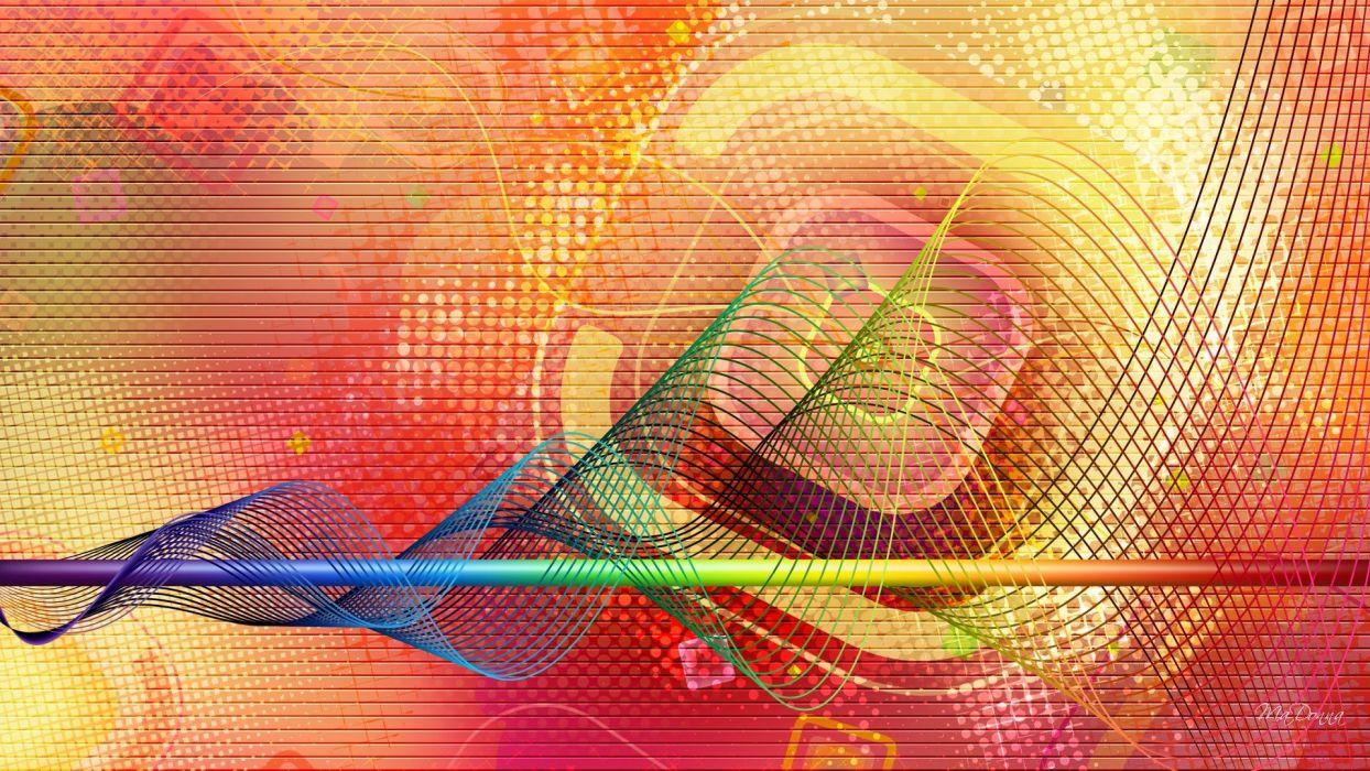multicolor digital art backgrounds colors wallpaper