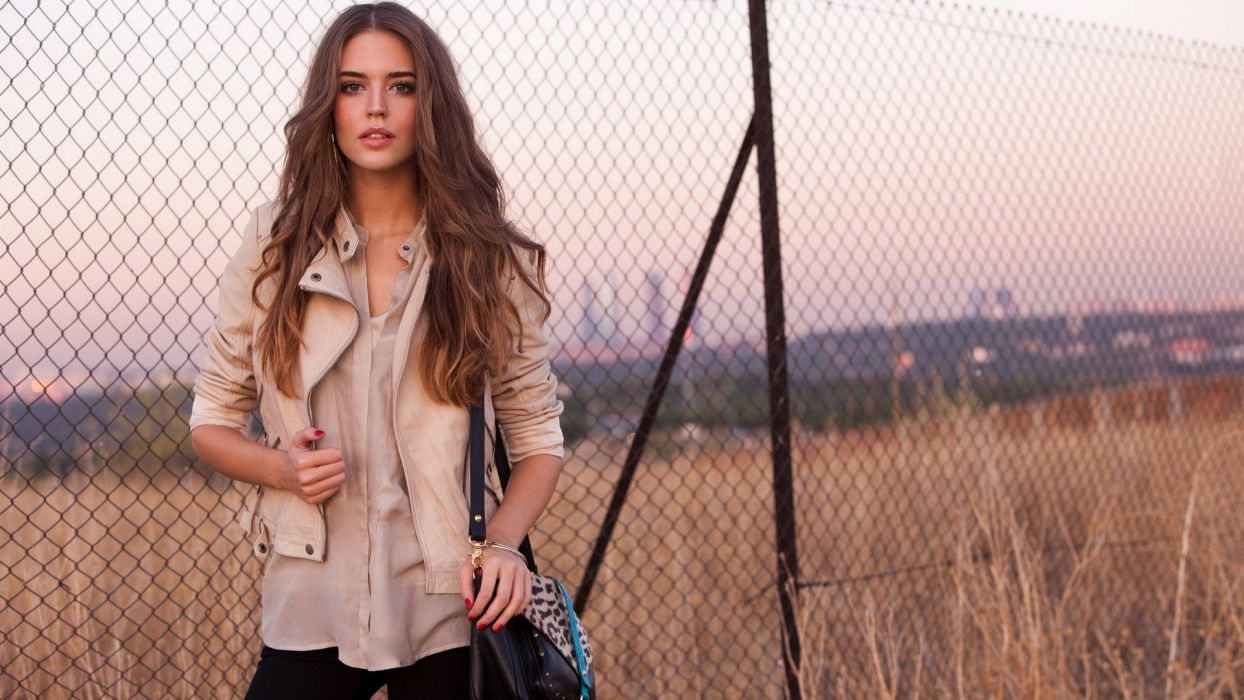 women models Clara Alonso wallpaper