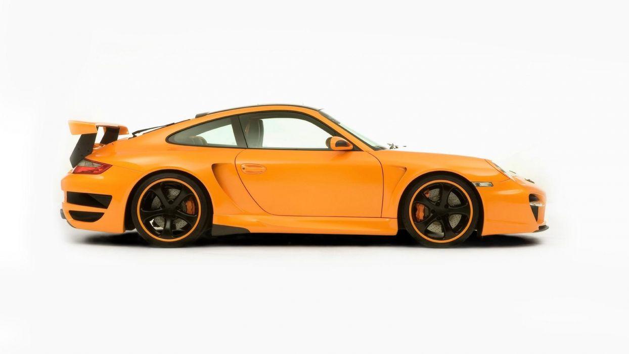 cars TechArt Porsche 911 Porsche 911 Turbo street wallpaper