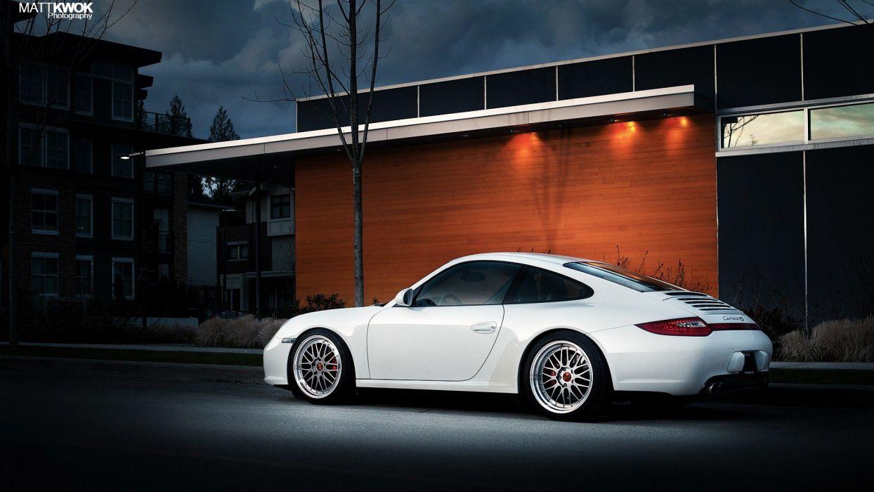 cars Porsche Carrera 4S wallpaper