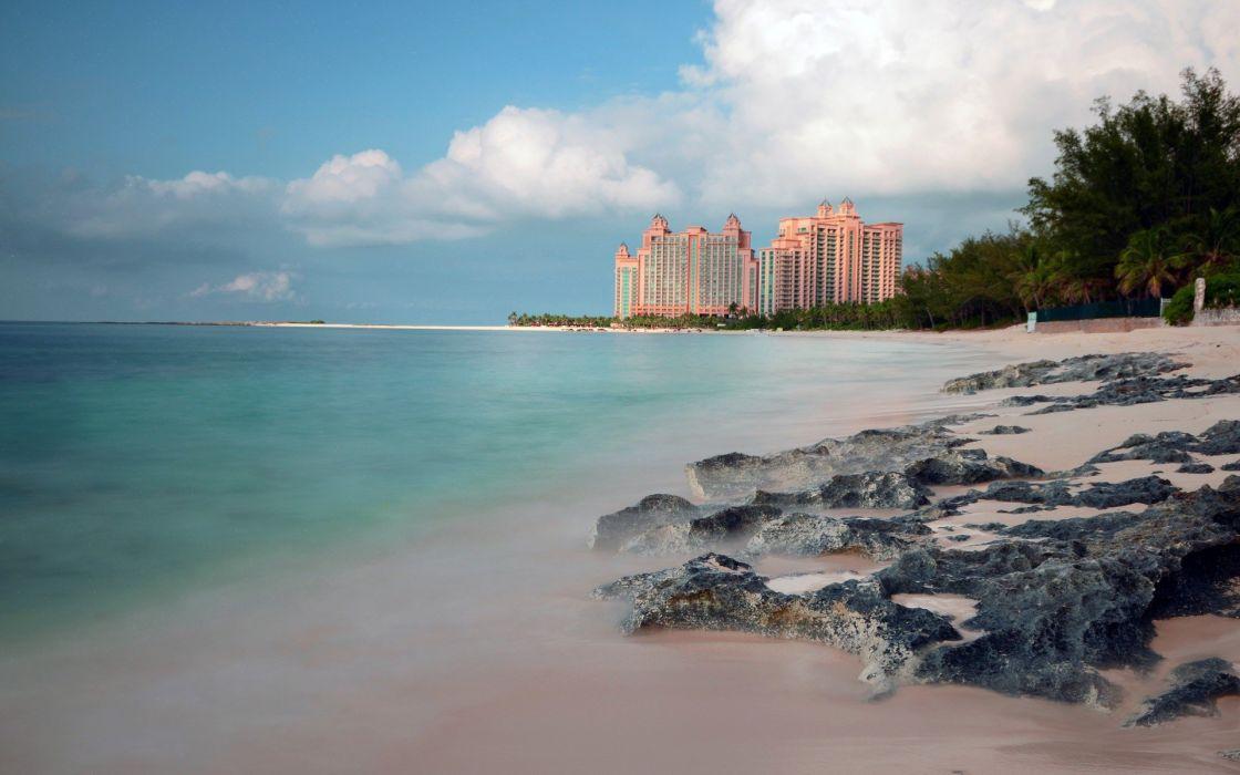 ocean hotels resort beaches wallpaper