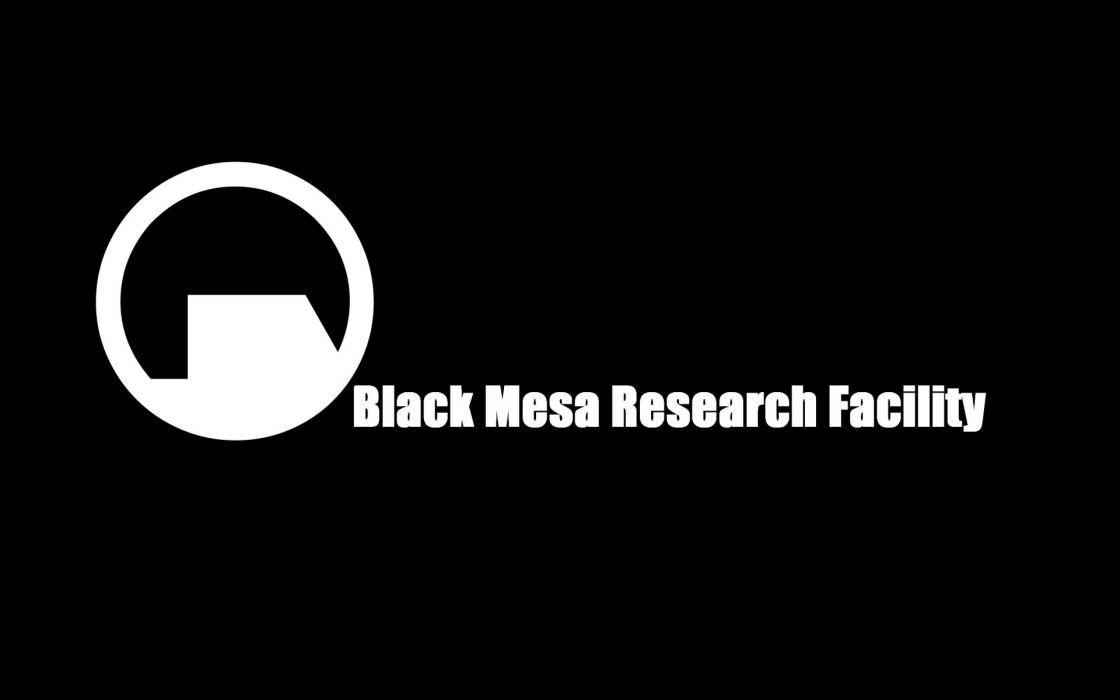 video games Half-Life Black Mesa simple background wallpaper