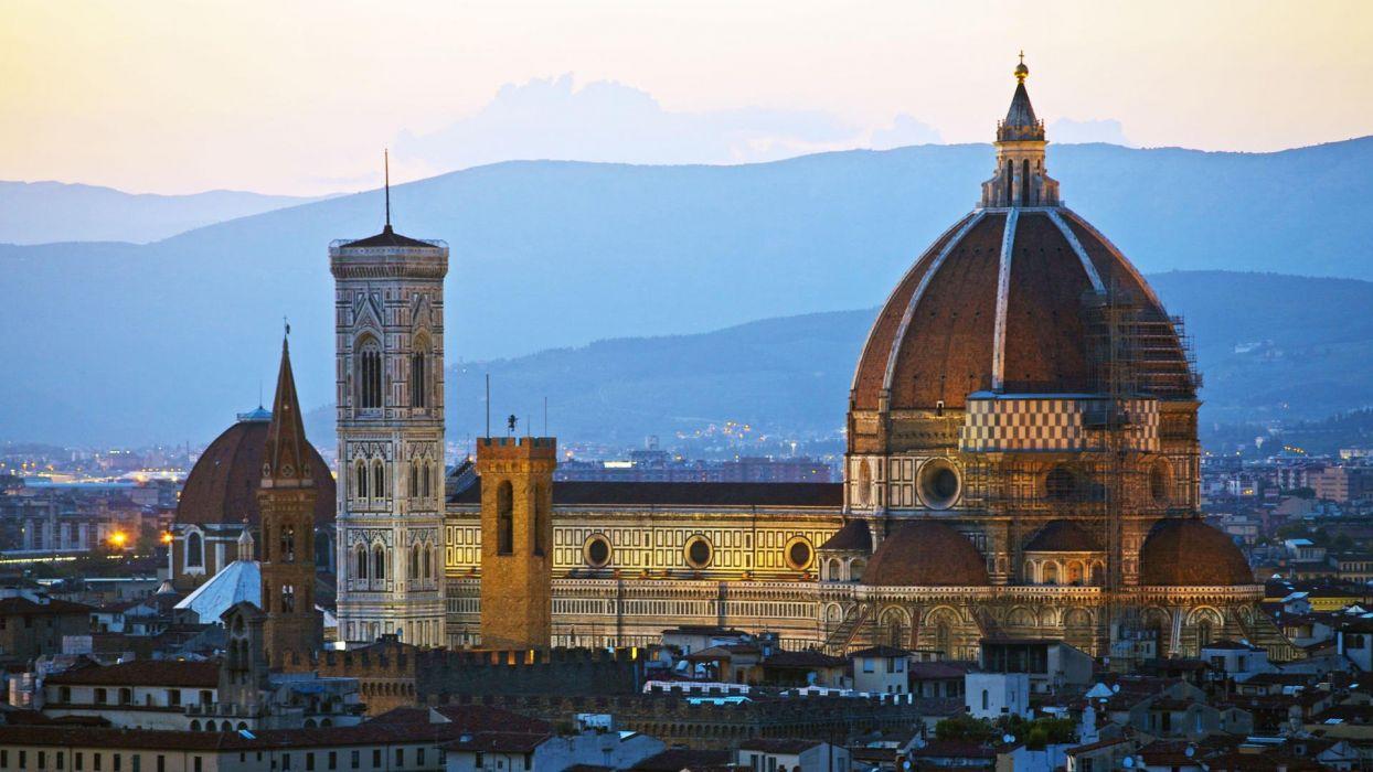 Maria Italy Florence Santa wallpaper