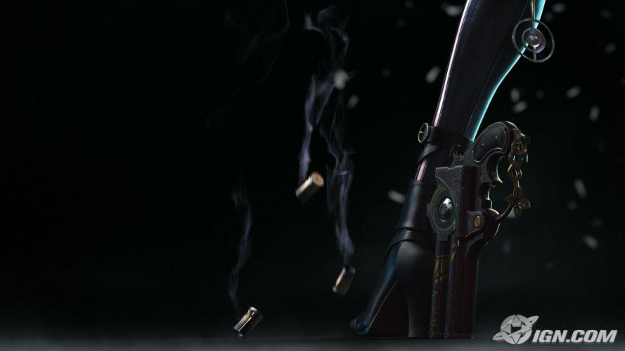 video games high heels Bayonetta wallpaper