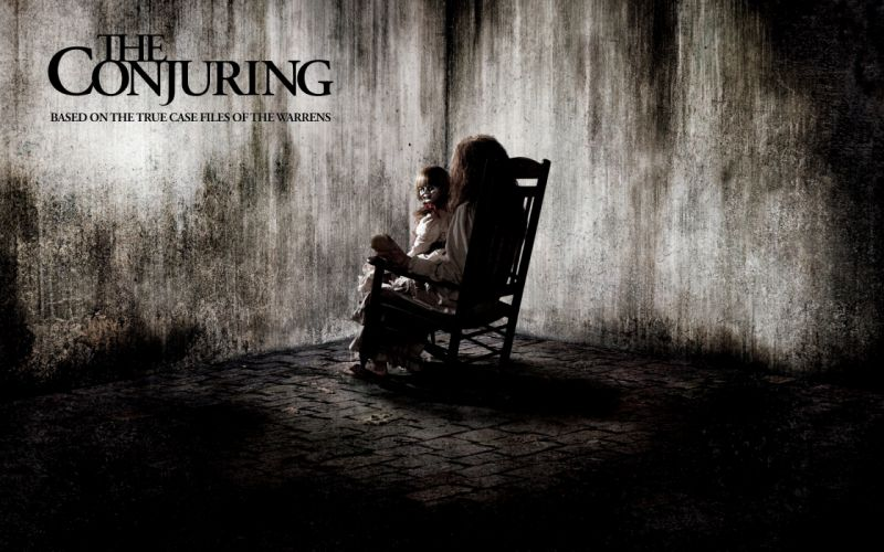 THE CONJURING dark horror thriller (3) wallpaper