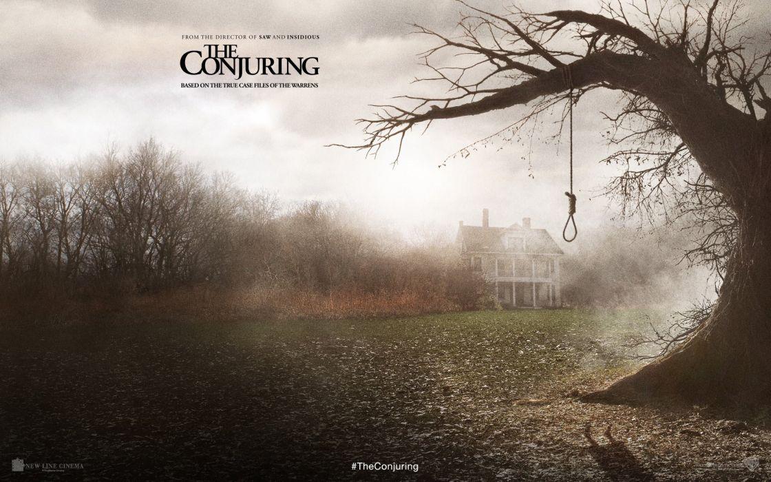 THE CONJURING dark horror thriller (2) wallpaper